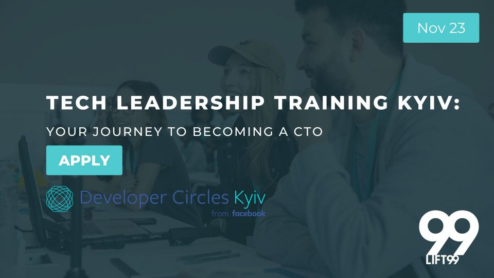 "Курс ""Як стати CTO"" від Facebook Developer Circle Kyiv"